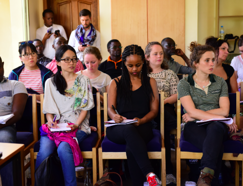 Aegis' new Educational Tour Programme in Rwanda hosts University of Manchester students