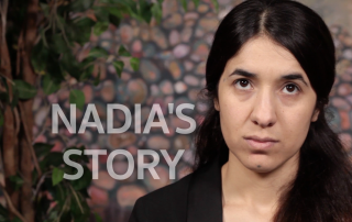 Yazidi survivor Nadia Murad, who escaped sex slavery at the hands of Daesh / ISIS, tells her story and calls for international protection.