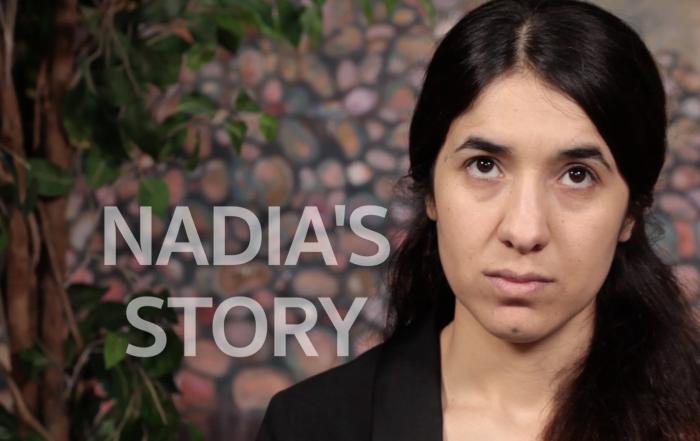 Yazidi survivor Nadia Murad tells her story and calls for international protection