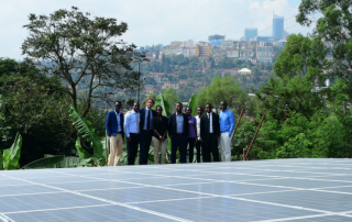 Solar system developed by Centennial Generating Co. becomes operational at the Kigali Genocide Memorial