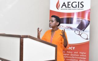 Workshop at the Kigali Genocide Memorial