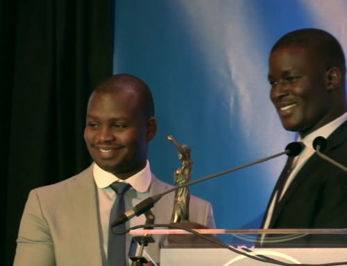 Aegis regional director receives peace award in the Hague