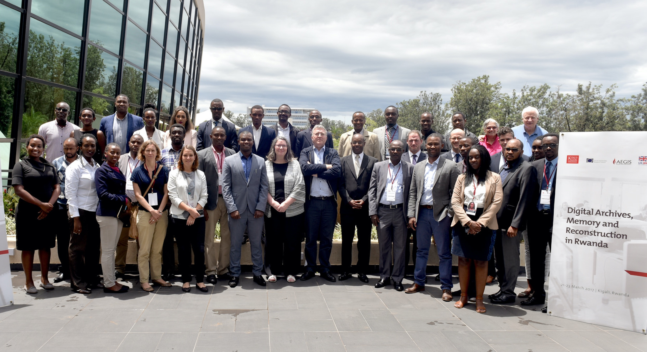 The Aegis Trust and King's College London (KCL) conference on Digital Archives, Memory and Reconstruction in Rwanda concluded with the development of a roadmap to improve the quality of archiving in Rwanda as well as access to existing and future digital archives.