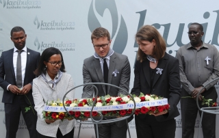 British High Commission and the Aegis Trust commemorate the genocide against the Tutsi, 12 April 2017