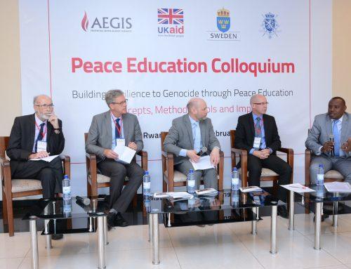 Peace Education Colloquium Report