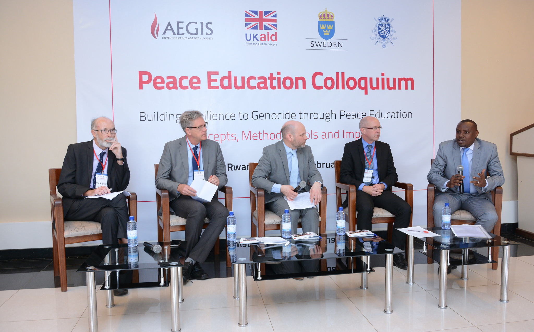 Peace Education Colloquium, Kigali Genocide Memorial, February 2017