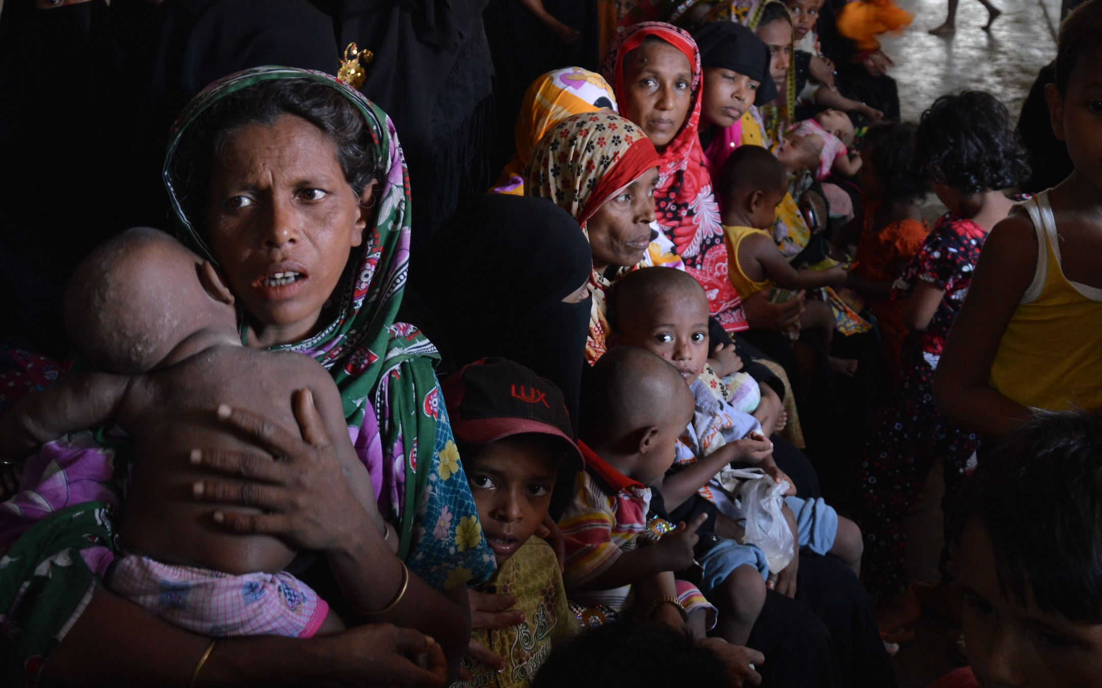 Rohingya refugees in Bangladesh. European Commission DG ECHO, CC BY-NC-ND 2.0