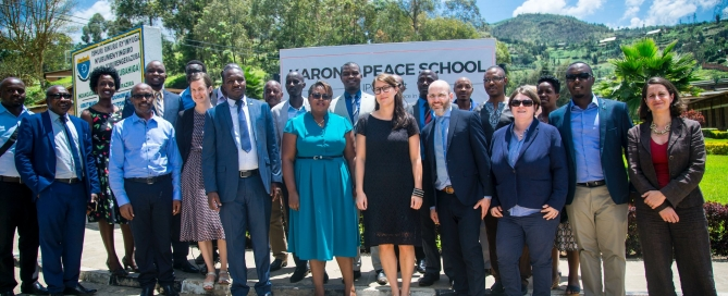 Karongi Peace School launch