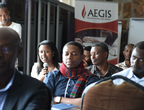 Aegis equips Rwandan teachers to be local peace ambassadors