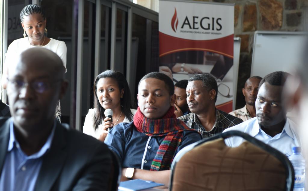 Capacity-building workshop for Rwandan researchers at the Kigali Genocide Memorial, 26-27 Nov 2015