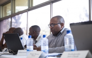 Conference in the Peace School, Kigali Genocide Memorial 2018