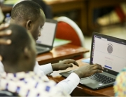 Rwandan teachers explore a pilot version of the Ubumuntu Digital Platform - www.ubumuntu.rw