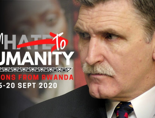 From Hate to Humanity: September webcast series